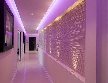 Staircase and Hallway Lighting Design
