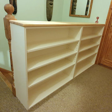 Stairs Landing Bookcase