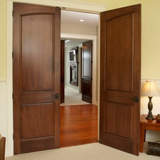 Traditional Hall by Stallion Doors and Millwork
