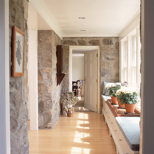 Stone Cape addition and renovation hallway