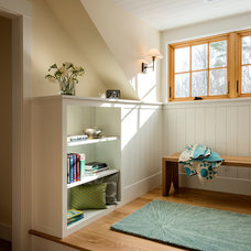 Traditional Hall by Whitten Architects