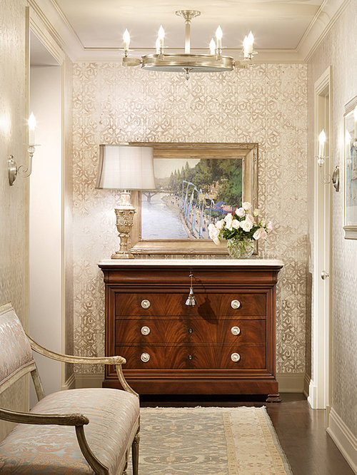 Wallpaper For Halls Design Ideas  Remodel Pictures  Houzz
