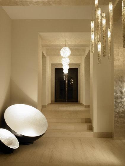 Mediterranean Hall by Amy Noel Design