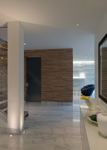 Contemporary Hall by Lightology