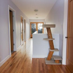 Hallway - contemporary hallway idea in Seattle