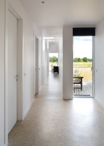 Contemporary Hallway & Landing by Paul Craig Photography