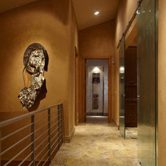 contemporary hall by Jaque Bethke for PURE Design Environments Inc.