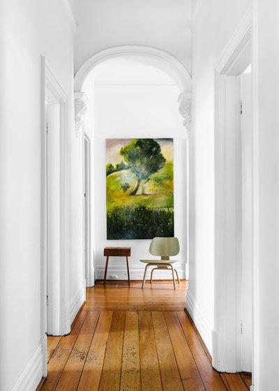 Eclectic Hallway & Landing by Kim Pearson Pty Ltd