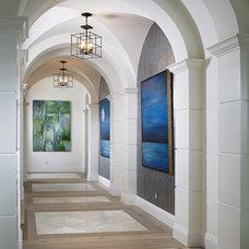 Beach Style Hall by DuChateau Floors