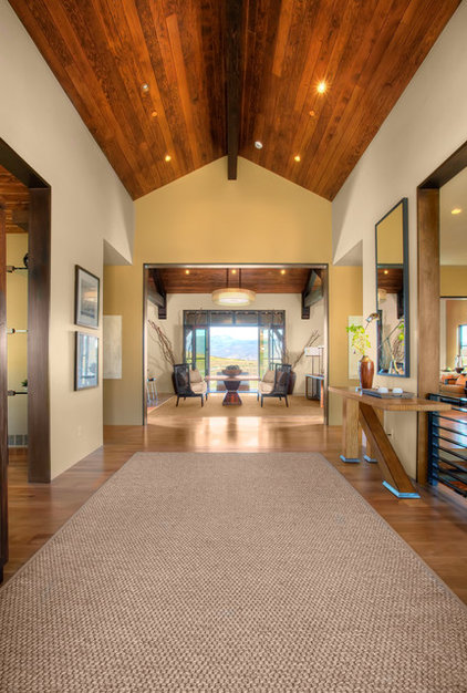 Rustic Hall by Phillips Development