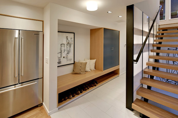 Tu pasillo es oscuro y estrecho 8 ideas para decorarlo y - Muebles para pasillos estrechos ...