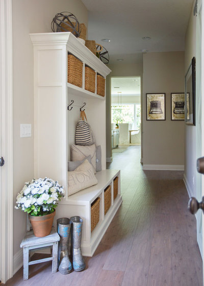 Traditional Hallway & Landing by Cottage Home Company