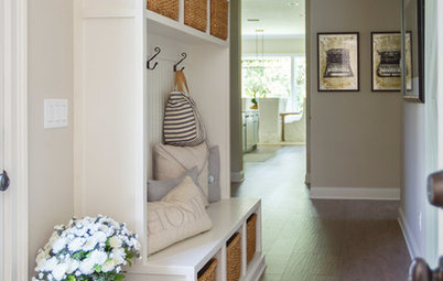 Do These 7 Things to Get an Organised Hallway