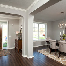 Transitional Hall by Robert Thomas Homes