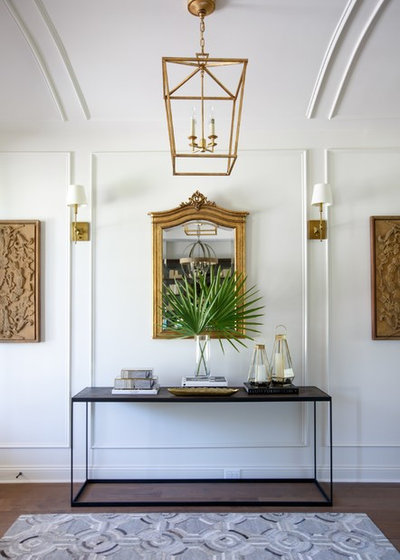 Transitional Hall by Cottage Home Company