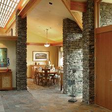 Eclectic Hall by Alan Mascord Design Associates Inc