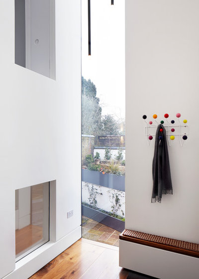 Contemporary Hallway & Landing by Fraher and Findlay