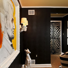 Eclectic Hall by Design In A Day