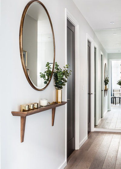 Contemporary Hallway & Landing by Gordon-Duff & Linton
