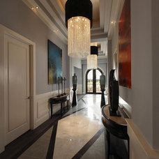 Contemporary Hall by Zero Latitude