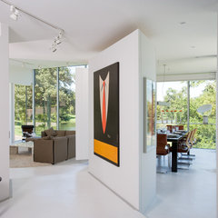 modern hall by Hufft Projects