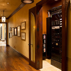 Traditional Hall by Bliss Home Theaters & Automation, Inc