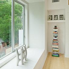 Modern Hall by Universal Joint Design Associates
