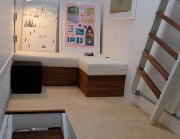 Third floor edition to walk-in-closet turned bedroom