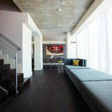Contemporary Hall by Nest Design Studio