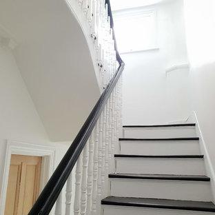 Three Floors Hallway Area Painted, water damage repair and exterior work