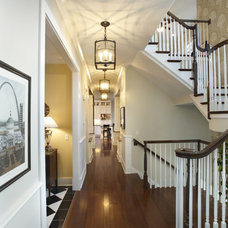 Traditional Hall by Kristin Petro Interiors, Inc.