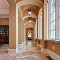Traditional Hall by Martin Bros. Contracting, Inc.