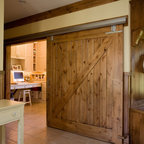 Reclaimed Sliding Wood Door