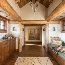Traditional Hall by Pearson Design Group