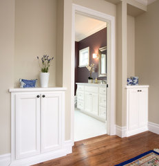 traditional hall by Precision Cabinets & Trim