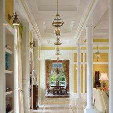 Traditional Hall by Romanza Interior Design
