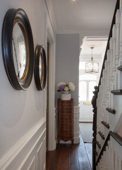 American Traditional Corridor Traditional Hallway & Landing