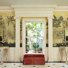 Traditional Hall by Katherine Shenaman Interiors