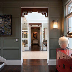 eclectic hall by deakins design group