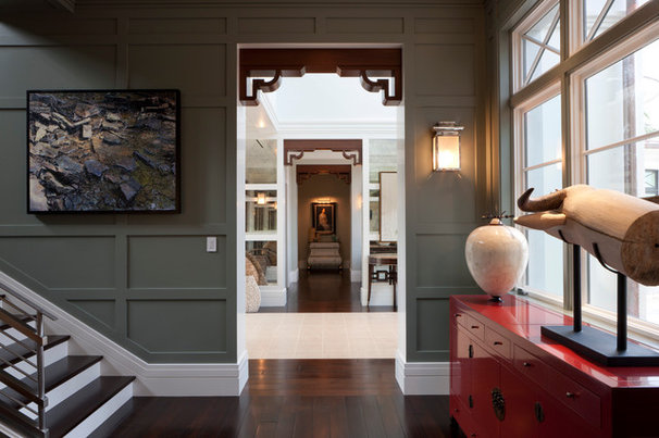 Transitional Hall by deakins design group