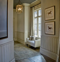 traditional hall by Valerie DeRoy Interiors, LLC