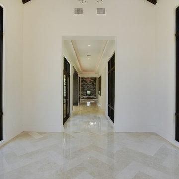 Transitional Home - Hallway