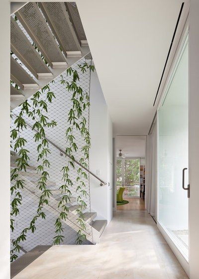 Contemporary Corridor by Meditch Murphey Architects