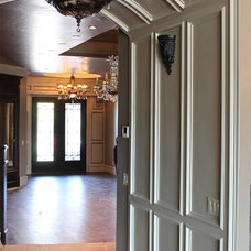 Traditional Hall by Richard Douglas Cabinets and Trim