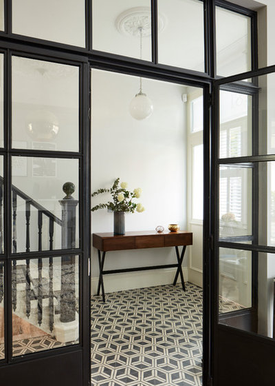 Contemporary Hallway u0026 Landing by BTL Property & Ideas for Crittall Doors in Your Interior