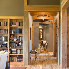 Rustic Hall by Alan Mascord Design Associates Inc