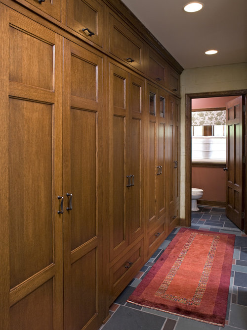 Hallway cabinets home design ideas pictures remodel and Hallway lockers for home