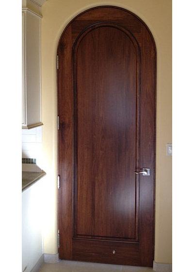 How to replace a door houzz for Mediterranean interior doors