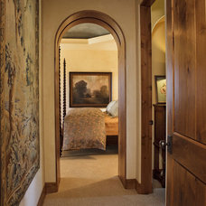 Traditional Hall by J. S. Brown Design
