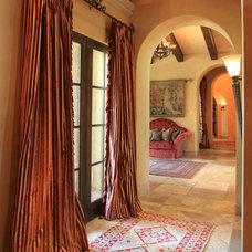 Mediterranean Hall by Wendy Black Rodgers Interiors